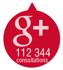 112 344 Google Plus consultations