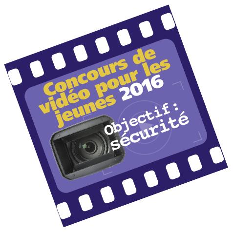 Concours de vidéo pour les jeunos 2016