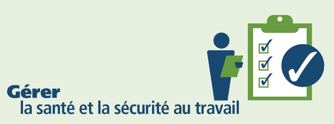 Gérer la santé et la sécurité au travail collage
