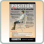 Le page du web : Position pour le confort et la s�curit�