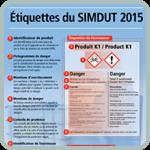 Renseignez-vous sur les données requises sur les étiquettes du SIMDUT 2015.