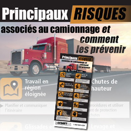 Principaux risques associés au camionnage et comment les prévenir