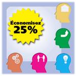Ensemble de cours en ligne sur la sant� mentale - économise 25%