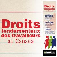 Droits fondamentaux des travailleurs au Canada