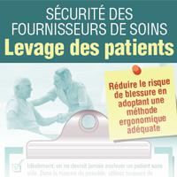 Sécurité des furnisseurs de soins Levage des patients