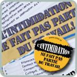 L'affiche du CCHST : L'intimidation ne fait pas partie du travail