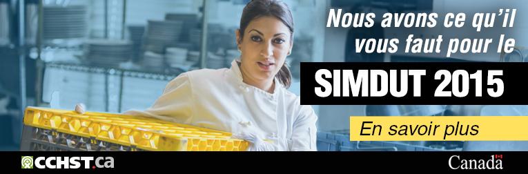Nous avons ce qu'il vous faut pour le SIMDUT 2015. En savoir plus.