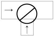 Figure 2b - Ne jamais effectuer de branchements en T
