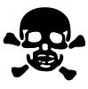 Symbole de danger - Poison