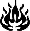 Symbole de danger - Inflammable