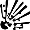 Symbole de danger - Explosif