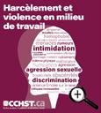Prospectus sur le harcèlement et la violence en milieu de travail