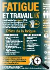 Infographie sur la fatigue et le travail