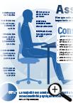 Infographie sur le travail en position assise