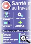 Infographie sur la santé mentale sur les lieux de travail au Canada