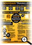 Document infographique sur la sécurité des nouveaux travailleurs au Canada
