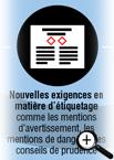Infographie sur la transition vers le SIMDUT 2015