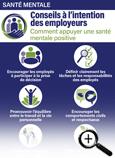 Carte info-éclair sur les conseils de santé mentale à l'intention des employeurs