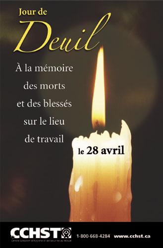 Jour de deuil (chandelle)