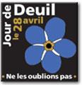 Épinglette commémorative du Jour de deuil national (Ne m'oublie pas)
