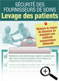 Carte info-éclair sur levage des patients
