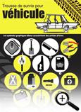 Carte info-éclair sur la trousse de survie pour véhicule