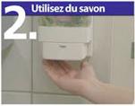 Utilisez du savon