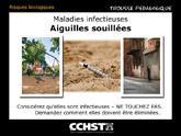 Maladies infectieuses - Aiguilles souillées