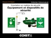 Bassin oculaire/Douche d'urgence (douche déluge)