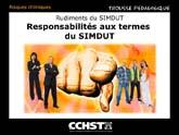 Rudiments du SIMDUT - Les responsabilités