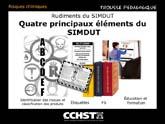 Rudiments du SIMDUT - Quatre principaux éléments du SIMDUT