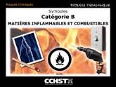 Symboles : Catégorie B : Matières inflammables et combustibles