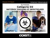Risques posés par les matières infectieuses