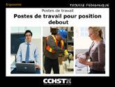 Postes de travail pour position debout