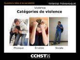 Trois grandes catégories de violence