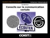 Conseils sur la communication verbale avec une personne qui peut être stressée ou violente